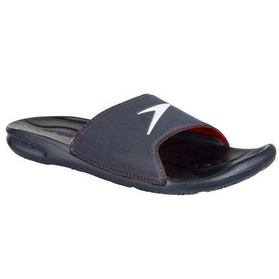 Modré pánské pantofle Speedo