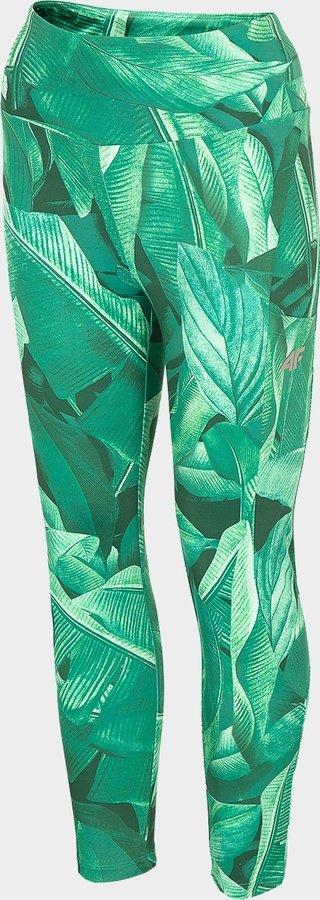 Zelené dámské funkční kalhoty 4F - velikost XS