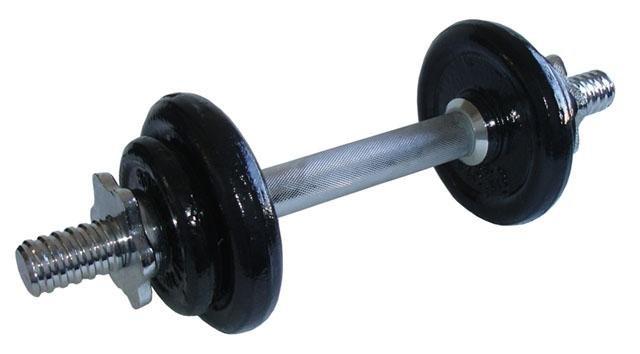 Jednoruční činka - ACRA Činka nakládací jednoruční - 5,5 kg