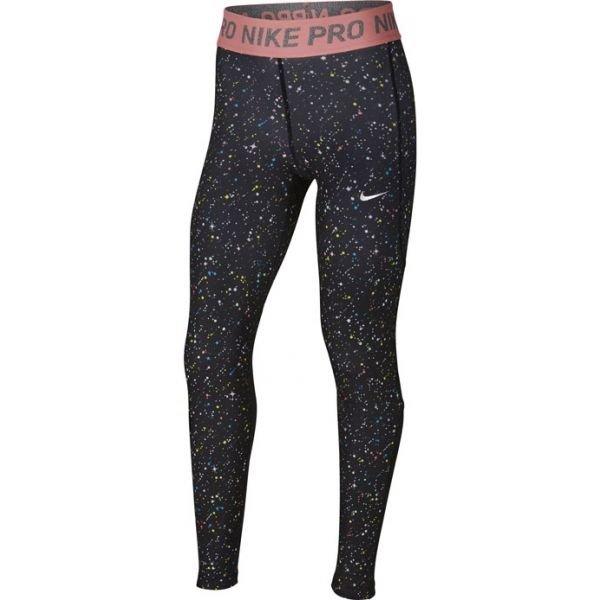 Černé dívčí legíny Nike - velikost M