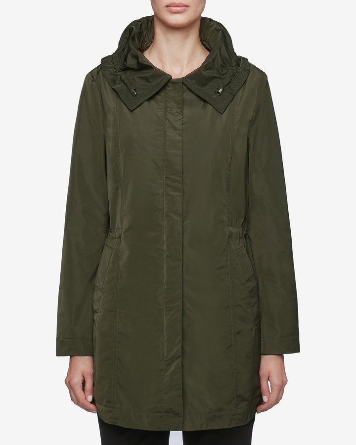 Zelená dámská bunda - větrovka Geox