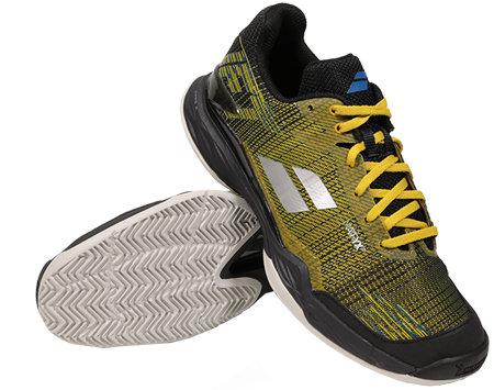 Černo-žlutá pánská tenisová obuv Jet Mach II Clay, Babolat - velikost 41 EU