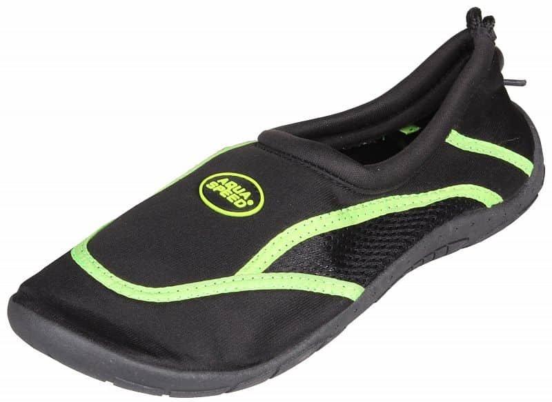 Černo-zelené boty do vody Jadran 3, Aqua-Speed - velikost 41 EU