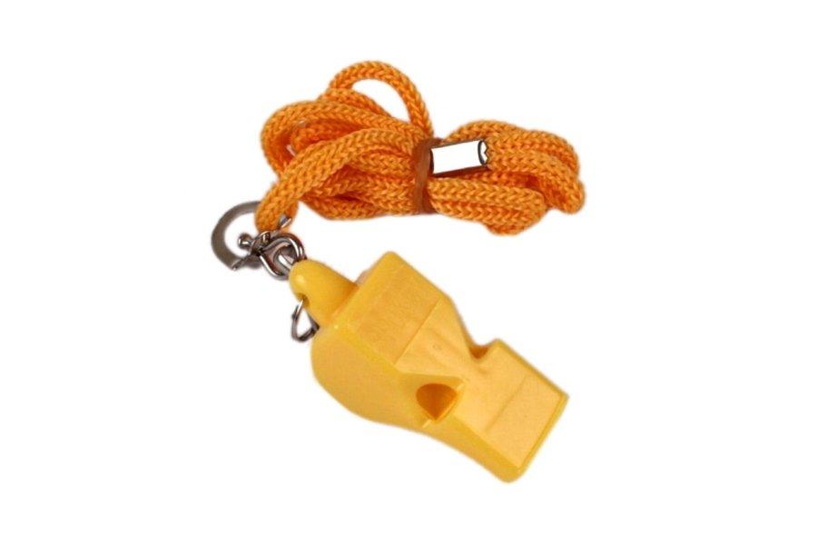 Píšťalka pro rozhodčího - Píšťalka plastová SPOKEY Mayday žlutá