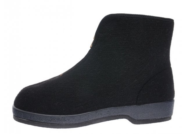 Černé pánské zimní boty