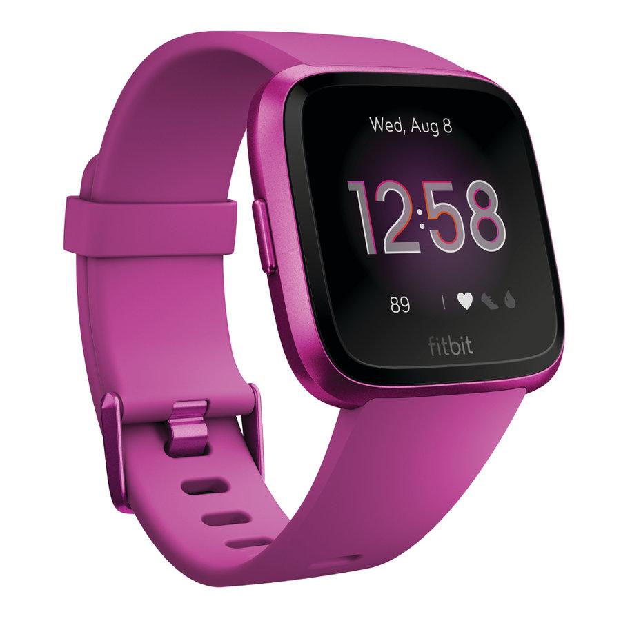 Fialové digitální chytré hodinky Versa Lite, Fitbit