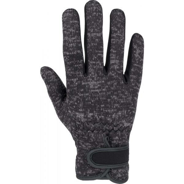 Černé dámské zimní rukavice Willard - velikost XS-S