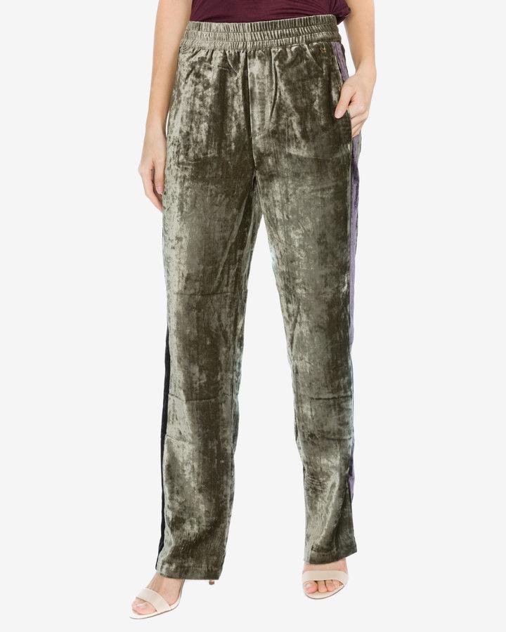 Zelené dámské tepláky Pepe Jeans