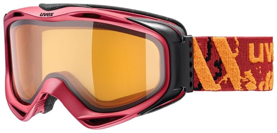 Lyžařské brýle - Uvex G.GL 300 LGL darkred mat dl/lgl (3030)