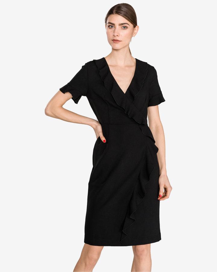 Černé dámské šaty French Connection - velikost S