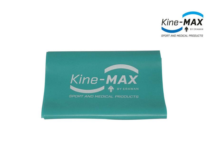 Posilovací guma - Kine-Max Resistance Band Level 3 - zelená - zelená