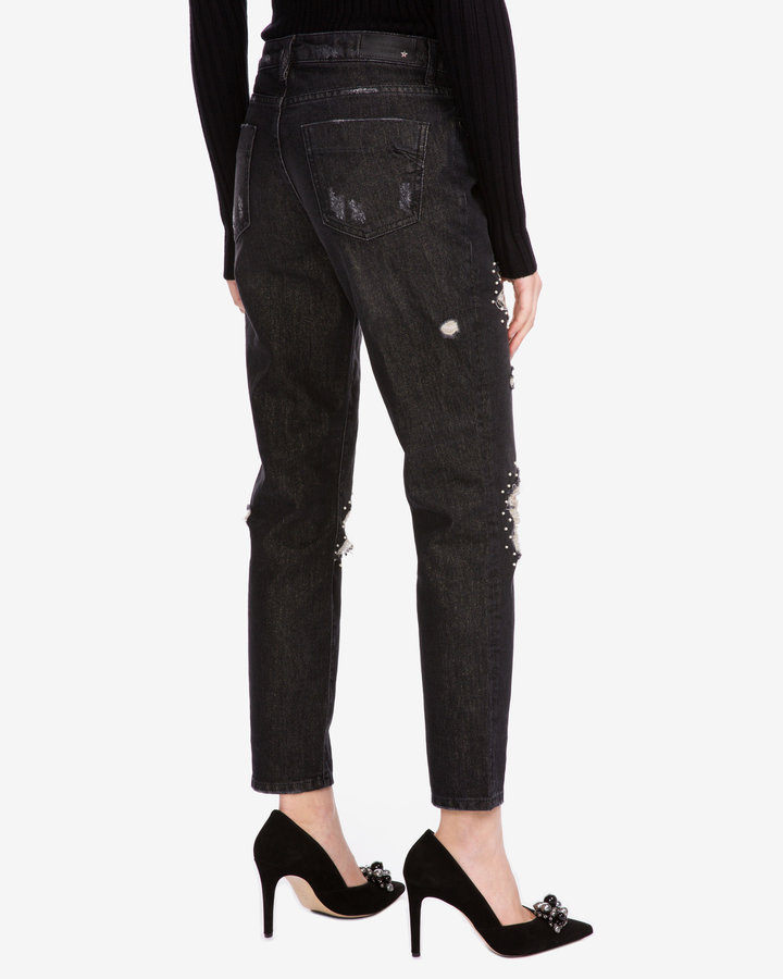 Černé dámské džíny Silvian Heach - velikost 26