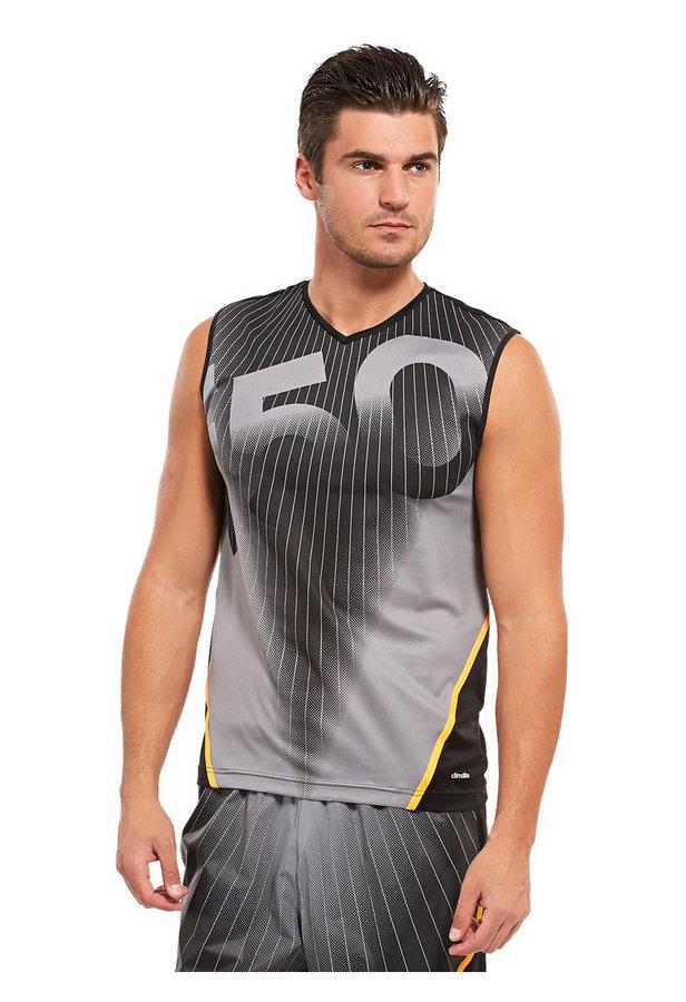 Černé pánské tílko Adidas - velikost M