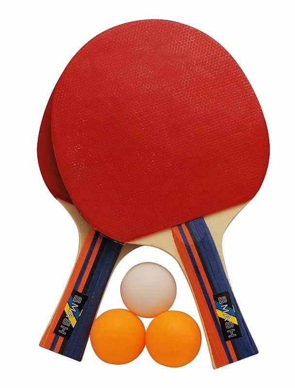 Sada na stolní tenis - Set na pingpong RULYT 2ST-01, 2 x raketa, 3 x míč
