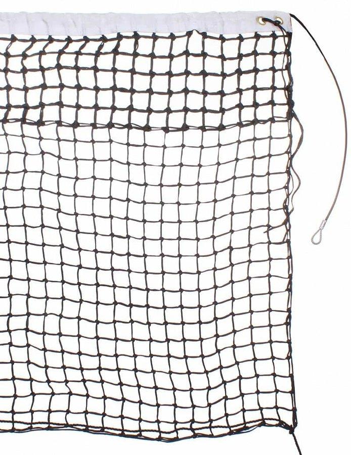 Tenisová síť - tenisová síť TN 34 D dvojitá, lanko barva: černá