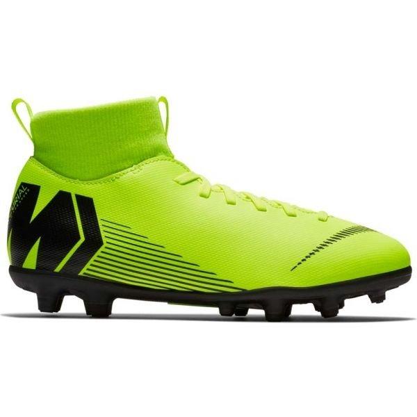 Zelené dětské kopačky Nike