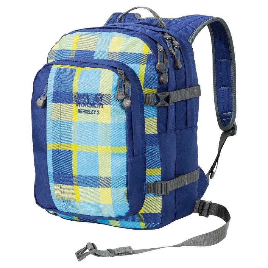 Batoh - Jack Wolfskin Berkeley S Blue woven check