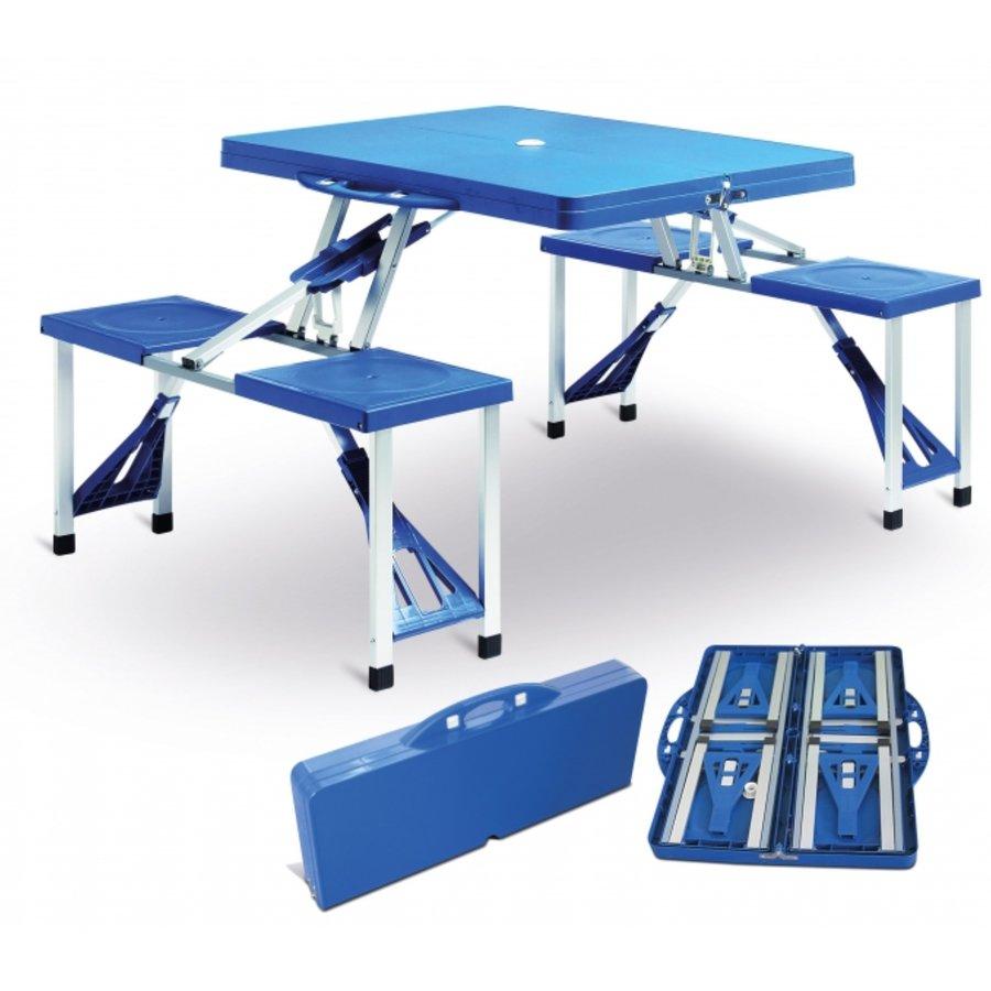Kempingová sada nábytku V-Garden 1x stůl, 4x židle
