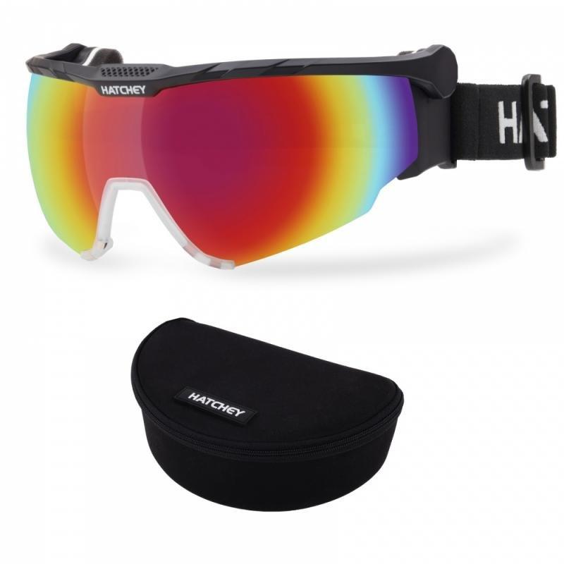 Černé brýle na běžky Hatchey