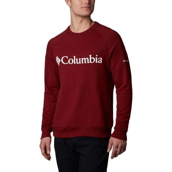 Červený pánský svetr Columbia - velikost L