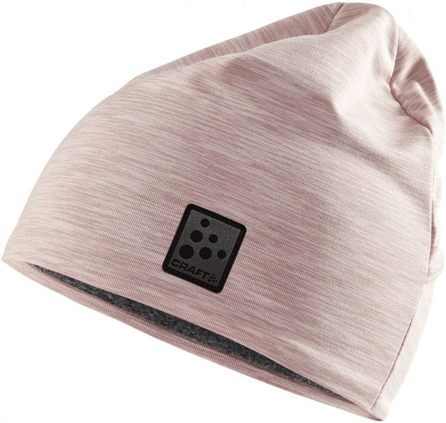 Růžová běžecká čepice Craft - univerzální velikost