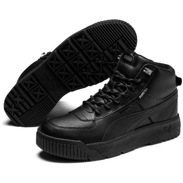 Černé pánské zimní boty Puma