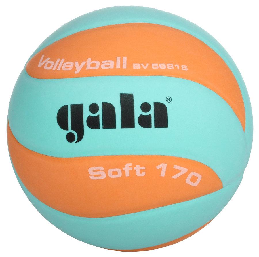 Oranžovo-zelený volejbalový míč BV5681S, Gala - velikost 5