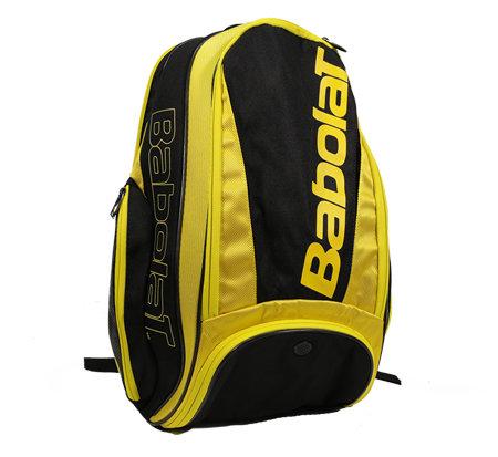 Černo-žlutý tenisový batoh Babolat