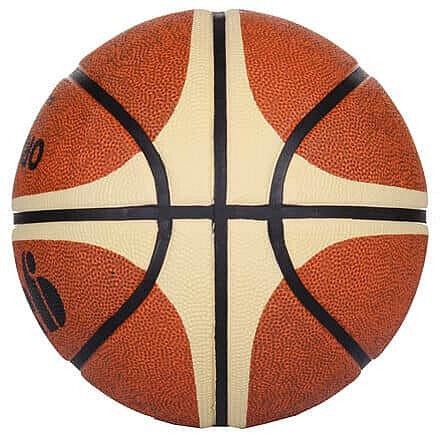 Hnědo-žlutý basketbalový míč Orlando, Gala - velikost 7
