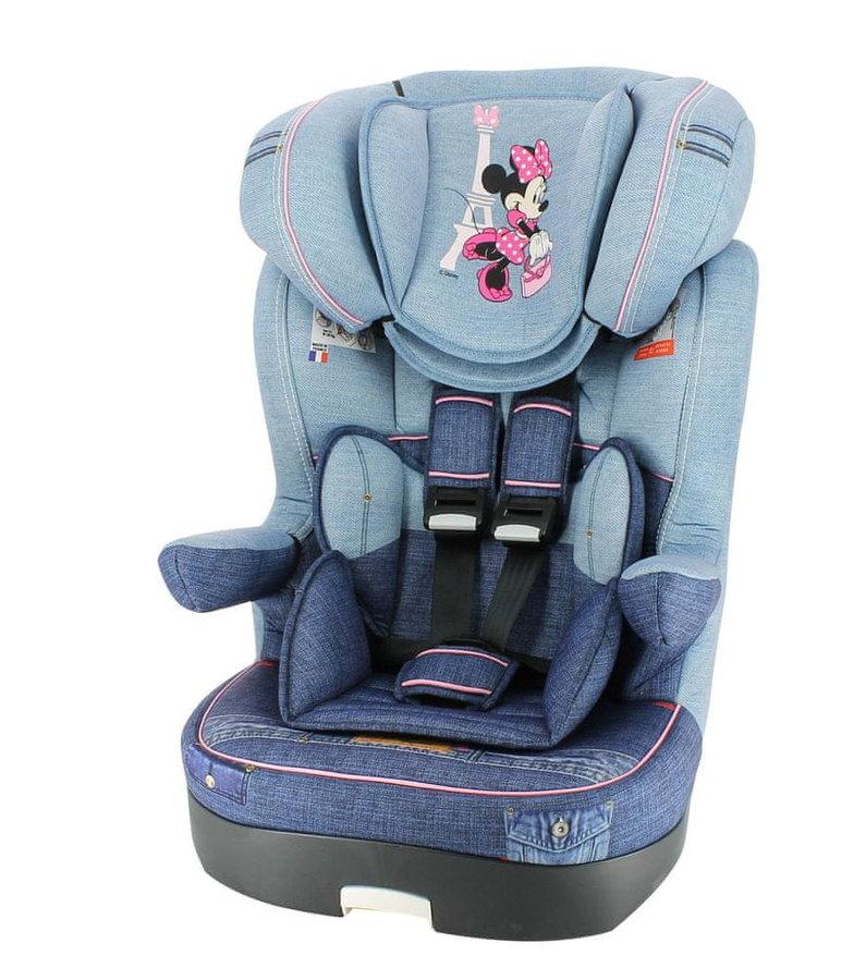 Modrá dětská autosedačka Myla, Nania - nosnost 36 kg