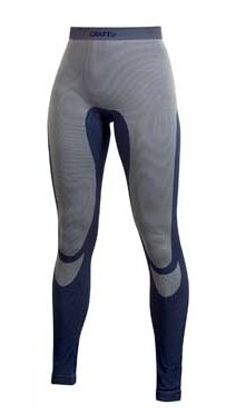 Modré dámské termo kalhoty Craft - velikost XL