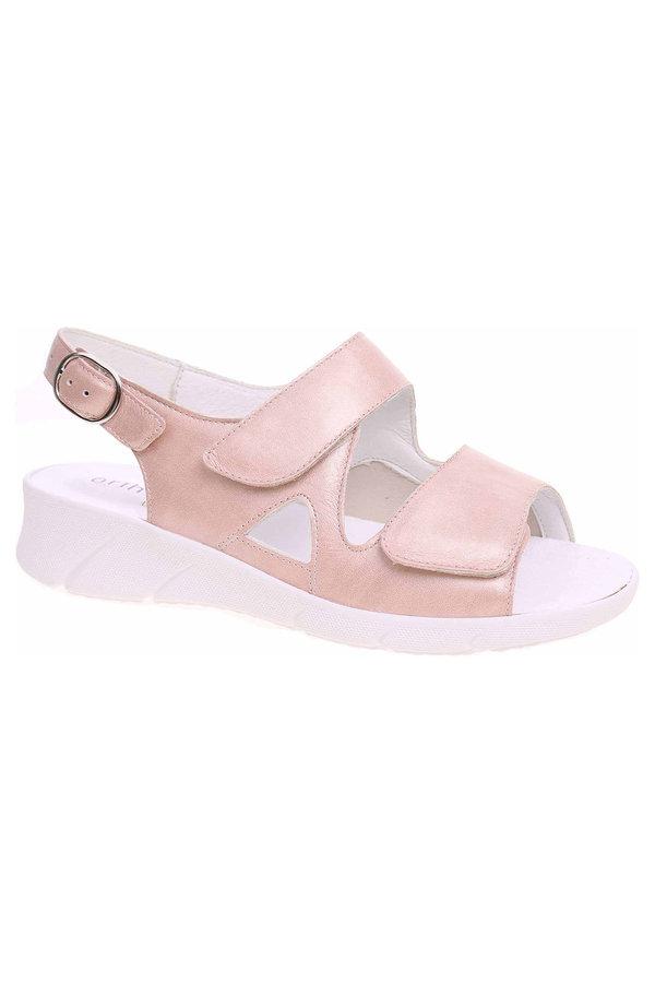 Růžové sandály Waldläufer