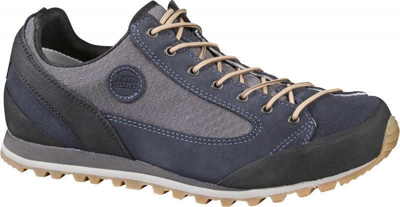 Černo-modré dámské trekové boty Hanwag