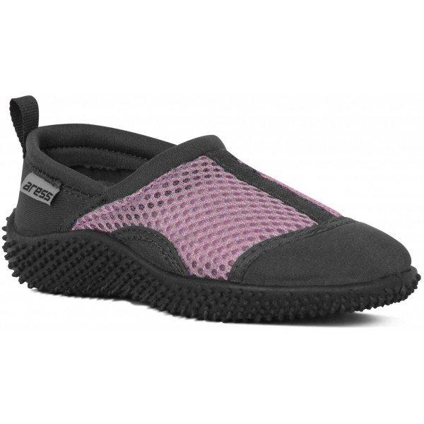 Černo-růžové dívčí boty do vody Aress