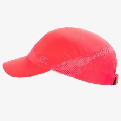 Růžová dámská běžecká kšiltovka Kalenji - univerzální velikost