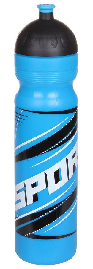 Modrá láhev na pití Zdravá lahev, R & B - objem 1 l