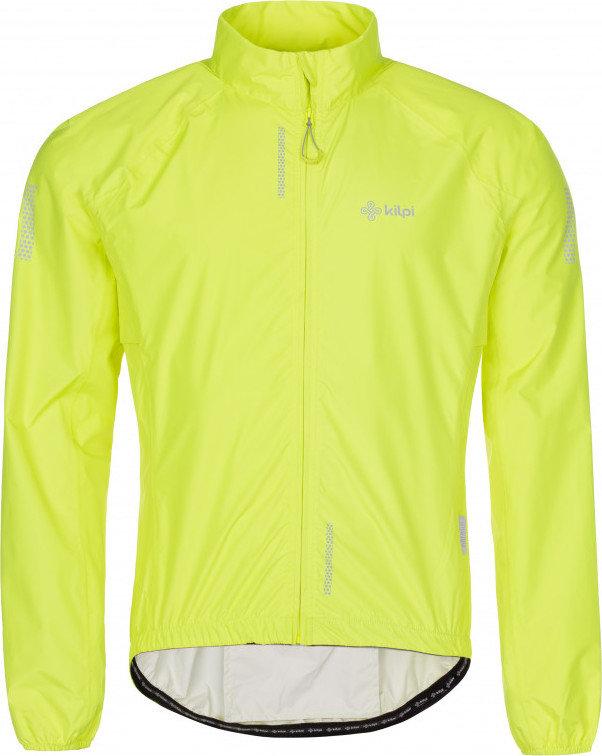 Žlutá pánská cyklistická bunda Kilpi