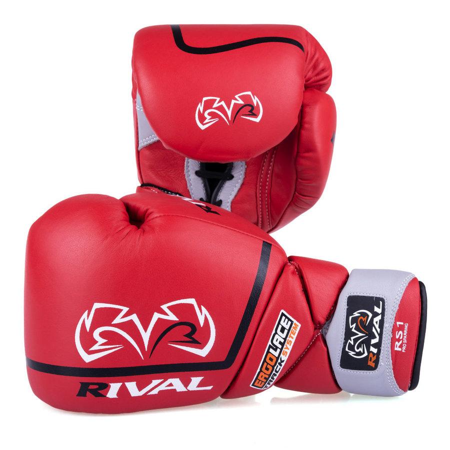 Červené boxerské rukavice Rival