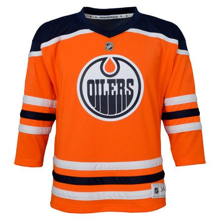 Oranžový hokejový dres Adidas - velikost XL