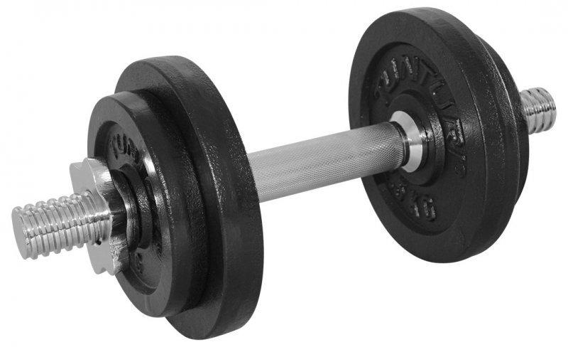 Nakládací činka Tunturi - 10 kg
