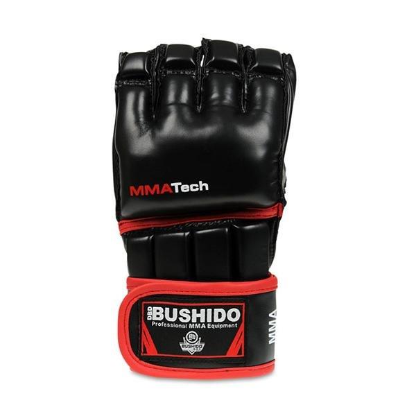 Černé MMA rukavice Bushido - velikost L