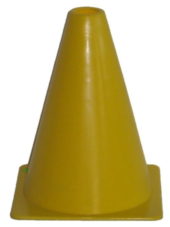 Tréninkový kužel - Fotbalový kužel - vel. 18 cm - žlutý