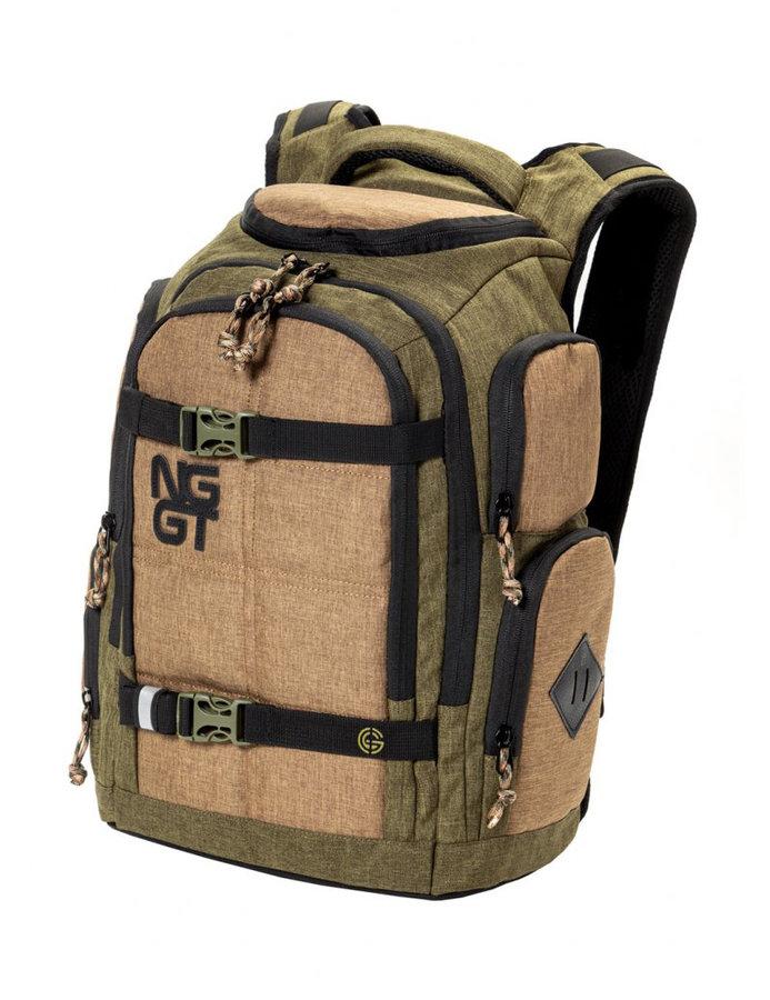 Batoh - Nugget Converge Backpack B - Heather Olive, Pale Green Velikost: JEDNOTNÁ VELIKOST