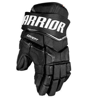 """Modré hokejové rukavice - senior Covert QRE, Warrior - velikost 14"""""""