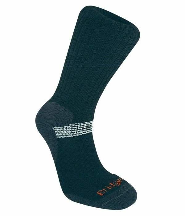 Modré pánské lyžařské ponožky Bridgedale