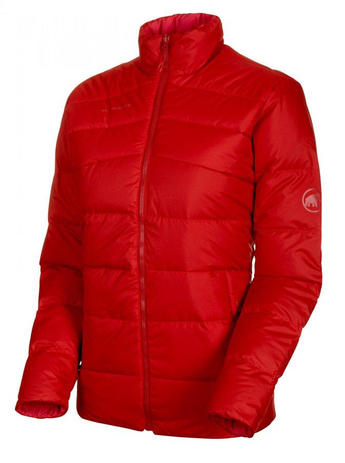 Červená zimní dámská bunda Mammut