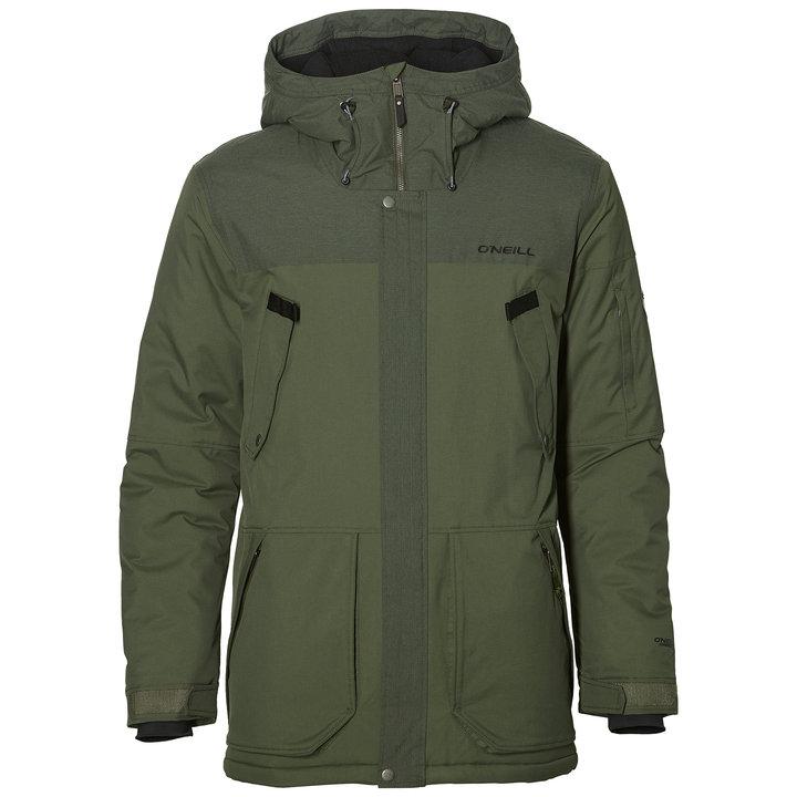 Zelená zimní pánská bunda O'Neill - velikost M