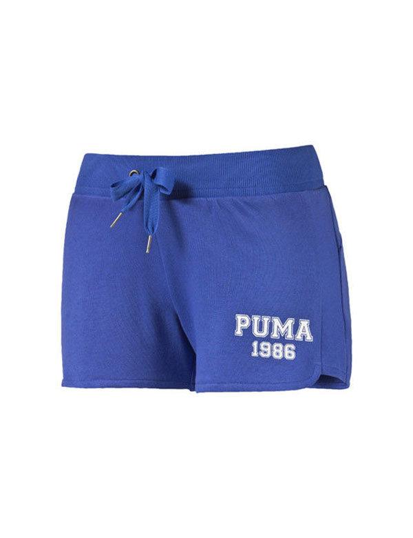 Modré dámské kraťasy Puma