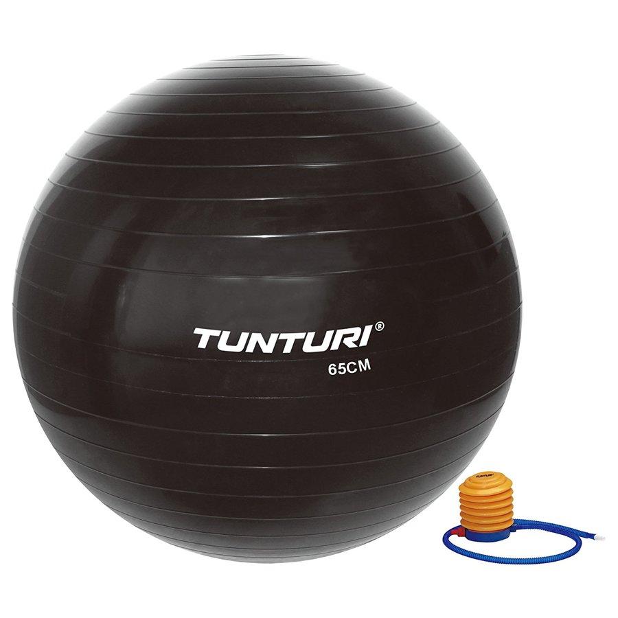 Černý gymnastický míč s pumpou Tunturi