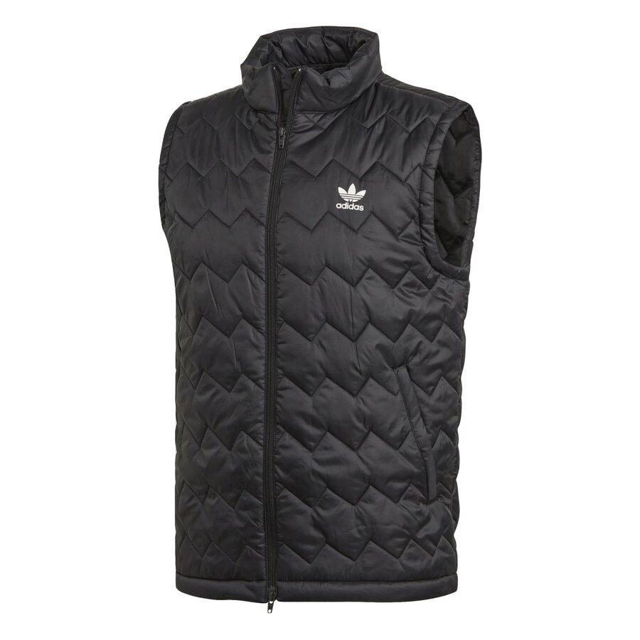 Černá pánská vesta Adidas - velikost S